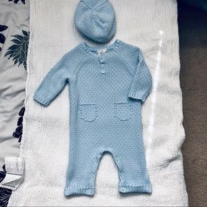 MAX STUDIO baby knitted onesie
